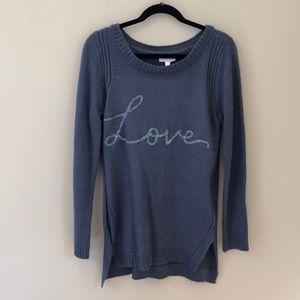 Lauren Conrad women's pullover knit top size Med